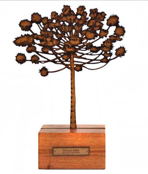 Escultura Árvore Araucária