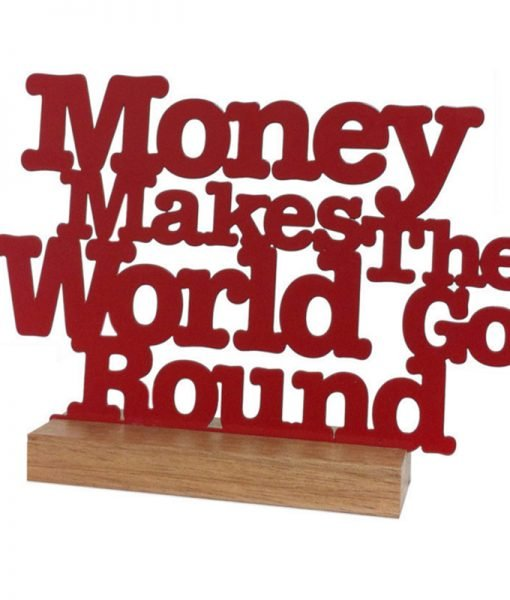 money makes the firm go round Essay money makes the world go round  is a popular saying in today's society because its true if you have money, you can get anything imaginable look at oj simpson for example.