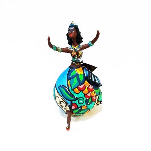 Bailarina de Cabaça Bapi Iemanjá