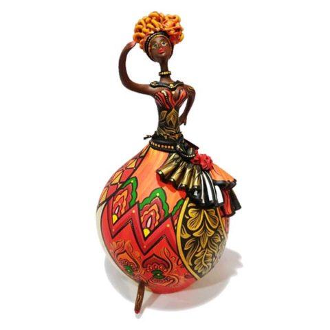Boneca feita de Cabaça Bapi