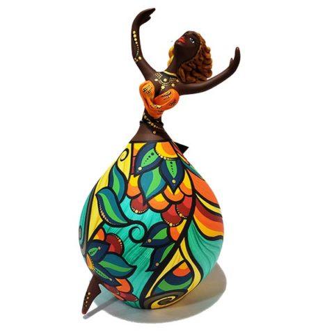 Dançarina de Cabaça Bapi